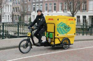 De Chariot: DHL Express introduceert nieuwe cargofiets
