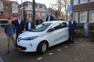 Gemeente Nunspeet neemt eerste elektrische deelauto in gebruik