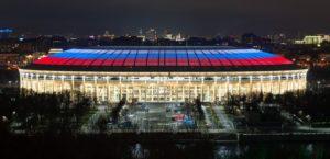 Signify verlicht 10 van de 12 voetbalstadions die deze zomer worden gebruikt in Rusland