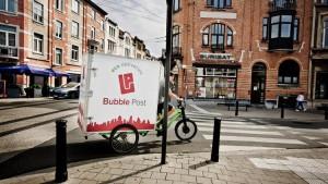 Bubble Post wil 'ecologisch transportbedrijf' zijn