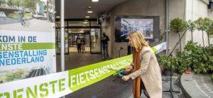 Nieuwe ondergrondse fietsenstalling Zwolle in gebruik genomen