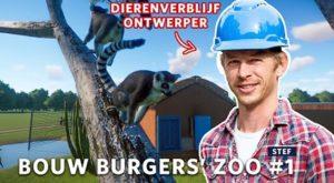Dierenparkontwerper Burgers' Zoo test Planet Zoo