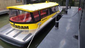 Eerste hybride Rotterdamse Watertaxi met Torqeedo systeem gedoopt