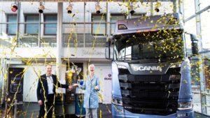 Scania opent grootste industriële zonnedak van Nederland