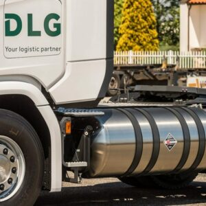DLG neemt zeven Scania LNG-trekkers in gebruik