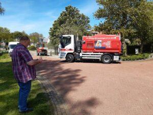 Wereldprimeur Omrin en IVECO met duurzame veegwagens