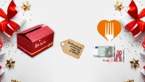 Met kerstpakketten voedselverspilling tegengaan
