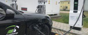 Supersnelle laadstations voor elektrische auto's van de toekomst