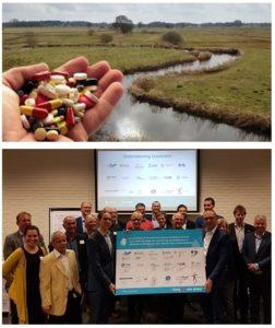 Handtekening onder samenwerking medicijnresten uit water Noord-Nederland