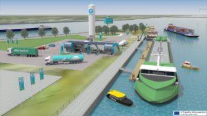 Dordrecht Inland Seaport wil bunkerstation LNG en andere schonere brandstoffen