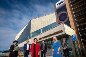 Opening ultramodern Solar Lab TNO in Petten