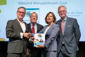 Minister ontvangt Slot- en Startakkoord Klimaatstroom Zuid van Zuid-Nederlandse overheden