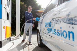Shell bouwt mee aan netwerk van waterstoftankstations in Nederland