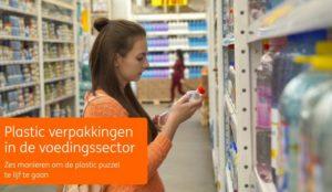 Ruim 1.500 voedselverpakkingen per Nederlander per jaar.  Plastic puzzel in de voedingssector