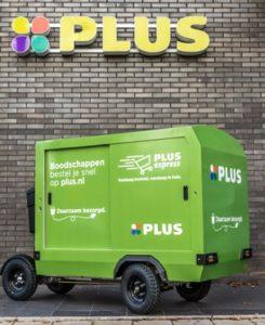 PLUS start met pilot duurzaam vervoer voor bezorgservice