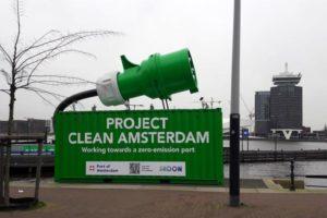 Varende batterij als schone energiebron voor stad en haven