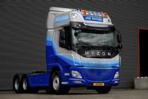 Jan Bakker Transport innoveert met aanschaf 10 waterstoftrucks