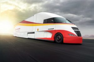 Shell showt Starship supertruck