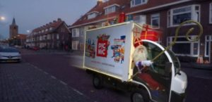 Picnic biedt bezorgwagentjes aan als gratis Sinterklaastaxi