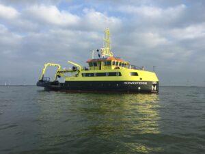 Eerste Multi Purpose Vessel van Rijkswaterstaat opgeleverd