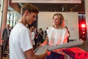 Feestelijke opening duurzame studentencampus (Y)ours Leidse Schans