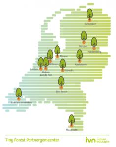 Eerste twaalf partnergemeenten Tiny Forest bekend