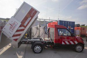 Drie nieuwe bedrijfsauto's op groene waterstof