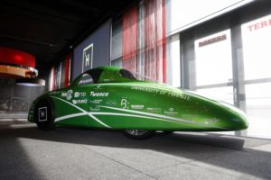Nieuwe waterstofauto uit Twente is zuiniger en sneller