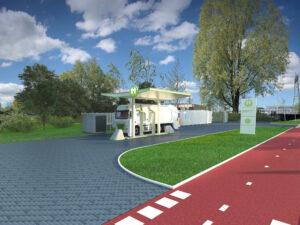 Century Autogroep en Holthausen Clean Technology bouwen samen groen waterstoftankstation in Groningen