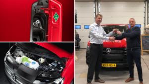 Century Autogroep heeft de primeur met de elektrische Volkswagen Transporter op waterstof