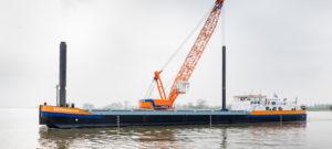 Viering 150 jaar Van Oord start met doop eerste LNG-schip